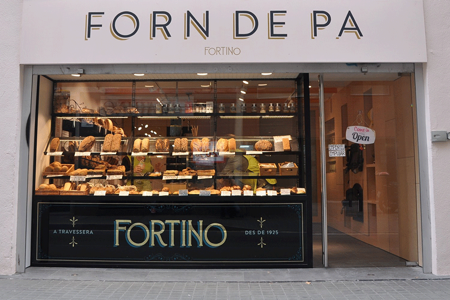The new bakery on Travessera de Gràcia 126