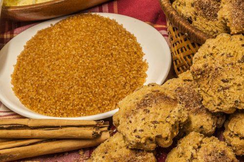 Galetes amb sucre de canya