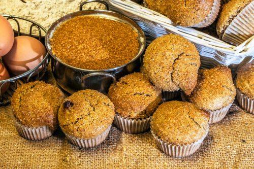 Magdalenes de sègol ecològic amb sucre de canyaamb