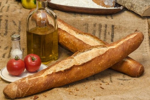Rusic wheat loaf