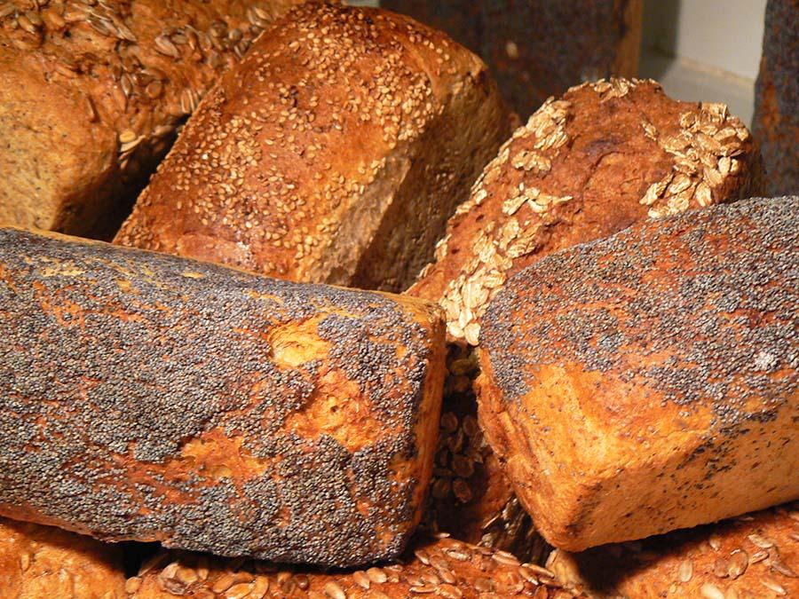 Healthy sliced bread