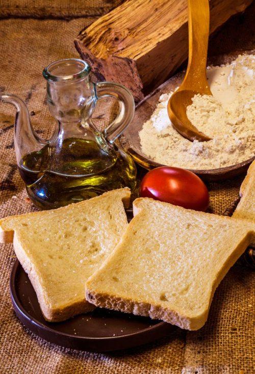 Organic spelt sliced bread