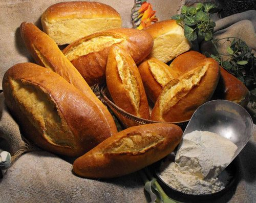 Pa de farina de kamut ecològica refinada