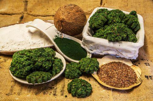 Galetes d'alga i coco sense sucre sense gluten