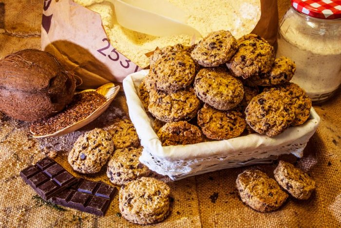 Galeta de coco i xocolata