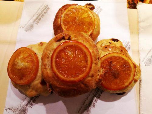 Panet de nous, taronja i nabius